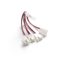 Удлинитель (переходник) питания  вентиляторов 4x 3pin или  4pin PWM -> Molex IDE, CBL-042, Negorack